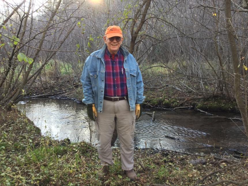 Craig Leiser at Browns Creek
