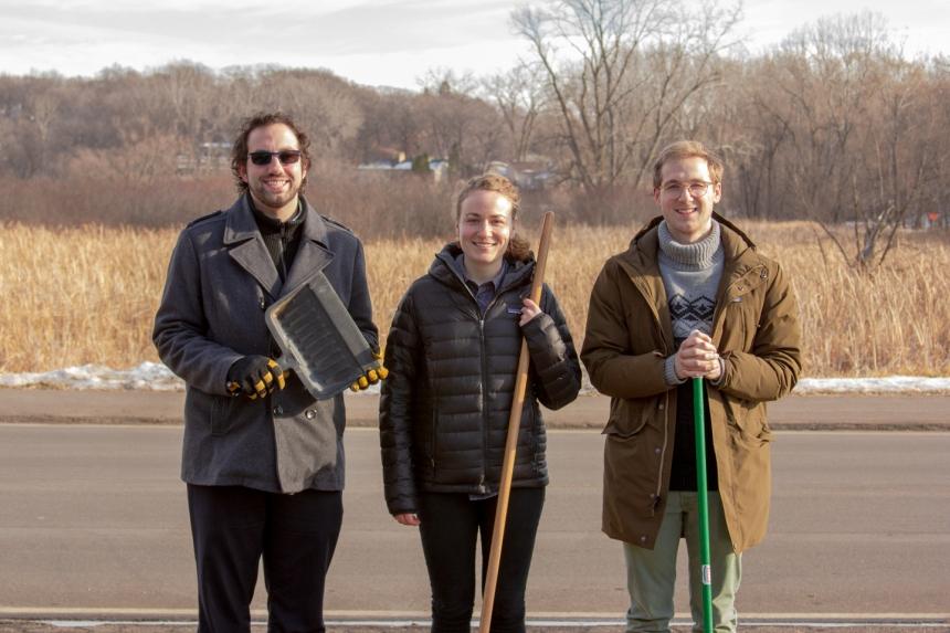 ben lehman, kate johnson, and jaron cook - greencorps members