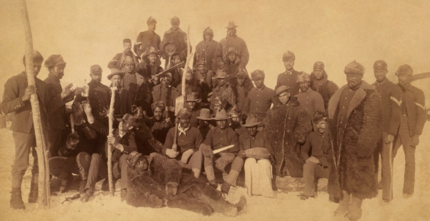 Buffalo Soldiers-Photo from Wikipedia US Public Domain