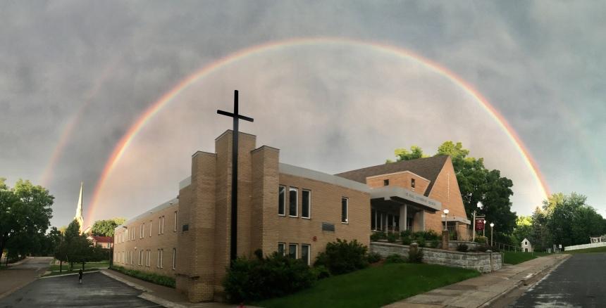 Stillwater rainbow