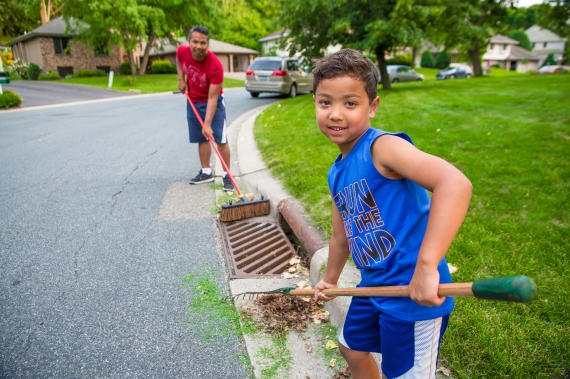 You can help to protect lakes and rivers by adopting a storm drain near you and committing to clean up litter and yard waste that would otherwise wash into our waterways.
