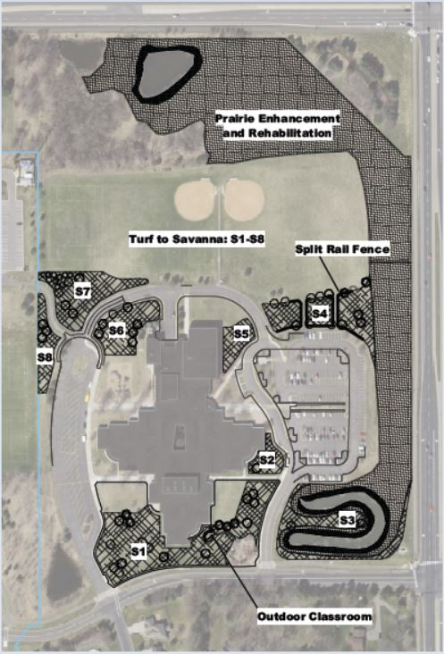 Valley Crossing Campus Greening plan